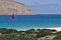 La Graciosa Playa de los Conchas Red Flag.jpg