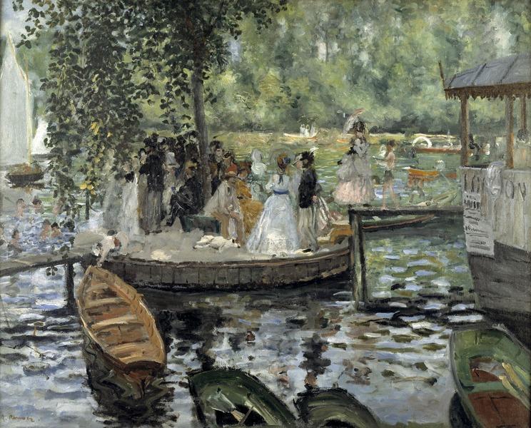 La Grenouillère (Auguste Renoir) - Nationalmuseum - 19486