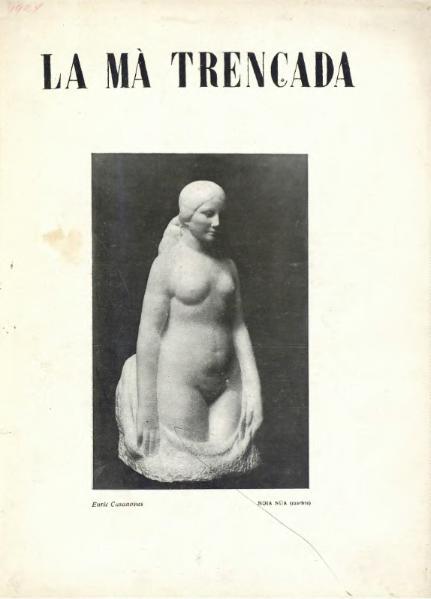 File:La Mà trencada - Any I Nr. 1 (1924).djvu