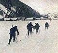 La patrouille militaire française de ski alpin, troisième des JO de 1924 à Chamonix.jpg