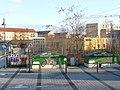 Ladestation am S-Bahnhof Teltow. Es fehlt die Brücke für die Fahrradfahrer über den S-Bahnhof - panoramio.jpg