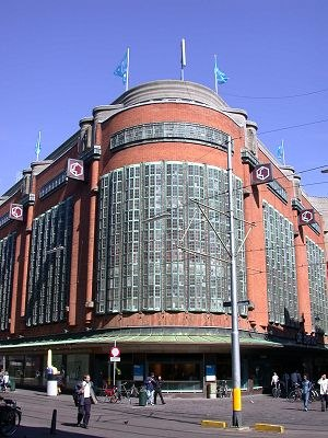 Amsterdam School - 'De Bijenkorf' department store in The Hague, 1924-26 (Piet Kramer)