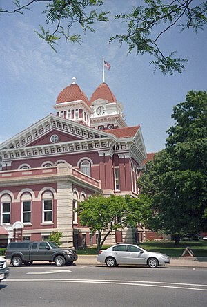 Crown Point, Indiana - Lake County courthouse in Crown Point