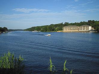 Lake Hamilton and Lake Catherine - Image: Lake Hamilton AR kmf