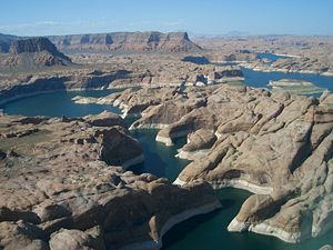 Lake Powell - Lake Powell in 2007
