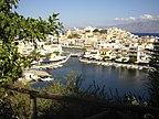 Grecja - Kreta, Ajos Nikolaos, Widok na plażę -