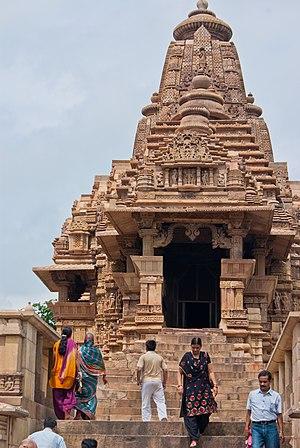 Lakshmana Temple, Khajuraho - Image: Lakshmana Temple 02