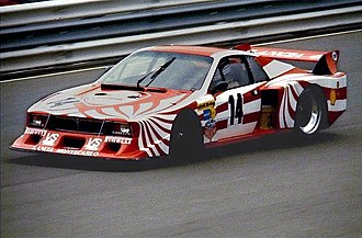 Group 5 (racing) - A Lancia Beta Montecarlo contesting the 1980 World Championship for Makes in the Group 5 category.