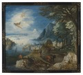 Landscape with the Fall of Icarus (Joos de Momper d.y.) - Nationalmuseum - 17734.tif
