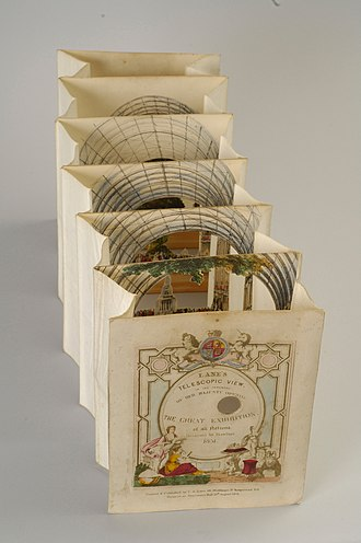 Pop-up book - Tunnel book