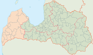 Kurzeme Planning Region - Image: Latvia region Kurzeme