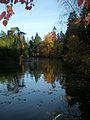 Laurelhurst Park, lake, November 2011.JPG
