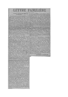 """Recorte del periódico """"Les Échos"""", sin fecha: Tribune de Laurent-Tailhade contra Paul Déroulède."""