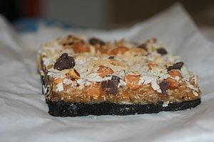 Dessert bar - Image: Layered bar