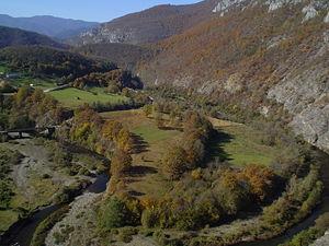 Rzav (Drina) - Rzav near village Vardište