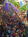 Le hoi songkran, silom road, Silom, Bang Rak, Bangkok, Thái Lan - panoramio.jpg
