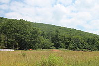 Lee Mountain in Briar Creek Township, Columbia County, Pennsylvania.JPG