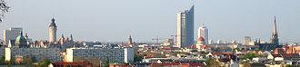 Bombing of Leipzig in World War II - Modern Leipzig today