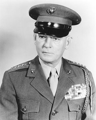 Lemuel C. Shepherd Jr. - 20th Commandant of the Marine Corps (1952-1955)