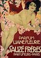 Leopoldo Metlicovitz, 1911 - Liane-fleurie-sauze-freres.jpg