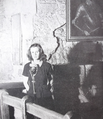 Lesley Piddington at the Tower of London.png