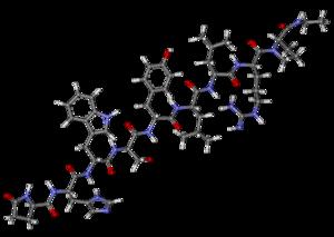 GnRH modulator - Leuprorelin, a GnRH agonist and GnRH analogue and a prototypical GnRH modulator.