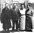 Lhamo Tsering, Sumal Sinha, Pemba Rimshi, Phuntso Tashi, Lhasa 1952.jpg