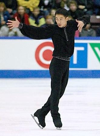 Li Chengjiang - Li competes in 2003.
