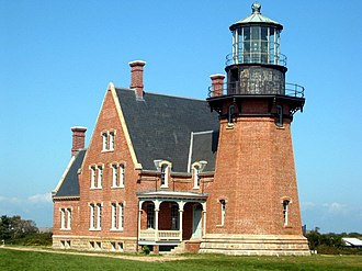 Block Island - Southeast Light is a Block Island landmark.