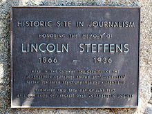 Lincoln Steffens Wikipedia S Lincoln Steffens As