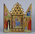 Lippo Vanni - Reliquary with Madonna and Child with Saints - Walters 37750.jpg