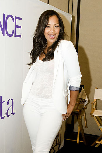 English: Actress/Designer LisaRaye McCoy Share...