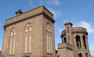 Everton, Liverpool - Everton Water Tower, 1864.