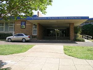 Liverpool Plains Shire - Liverpool Plains Shire Council offices in Quirindi.