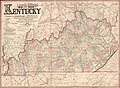 Lloyd's official map of the State of Kentucky - compiled from actual surveys and official documents, showing every rail road & rail road station with the distances between each station - also the LOC 2008628500.jpg
