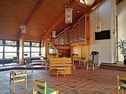 Loßburg, Versöhnungskirche im ev. Gemeindezentrum, Orgel (2).jpg