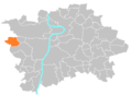 Location map municipal district Prague - Zličín.PNG