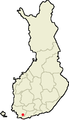 Location of Kisko in Finland.png