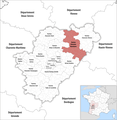 Locator map of Kanton Charente-Bonnieure 2018.png