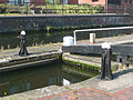 Lock gate and paddle gear, Birmingham and Fazeley Canal - geograph.org.uk - 994949.jpg