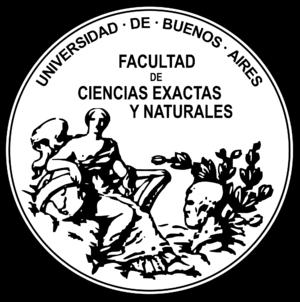 Faculty of Exact and Natural Sciences - Image: Logo fcenuba