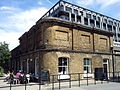 London-Woolwich, Royal Arsenal, Major Draper St, Cafe 1.jpg