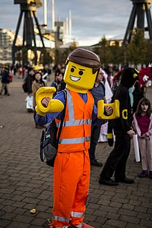 London Comic Con Oct 14 - Emmet Brickowski (15441659080).jpg