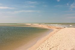 Long Spit Sea of Azov, Yeisk district, Krasnodar region.jpg