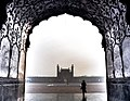Looking out at Badshahi Mosque.jpg