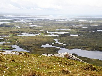 South Lewis, Harris and North Uist National Scenic Area - View over northern North Uist.