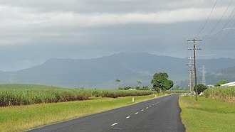 Mirriwinni, Queensland - Looking south-west along Buckland Road, 2018
