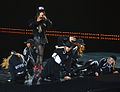 Loreen and her dancers at Art on Ice mars 2014.jpg
