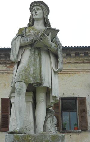 Lorenzo Canozzi - monument to Lorenzo Canozzi, Lendinara, Italy
