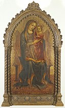 Lorenzo Monaco - Madonna met kind - NK1488 - Cultural Heritage Agency of the Netherlands Art Collection.jpg